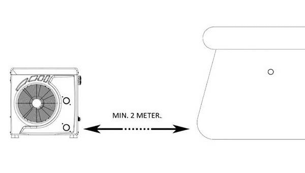 Тепловой насос Bridge MINI BP-40WS-MI-r32