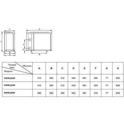 Тепловой насос Fairland THPR10NP (9.6 кВт)